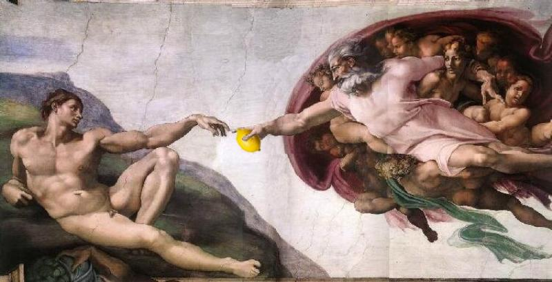 The Sistine Lemon
